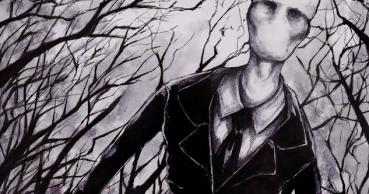 Artwork used to promote the movie on Slender Man by Steven Belcher