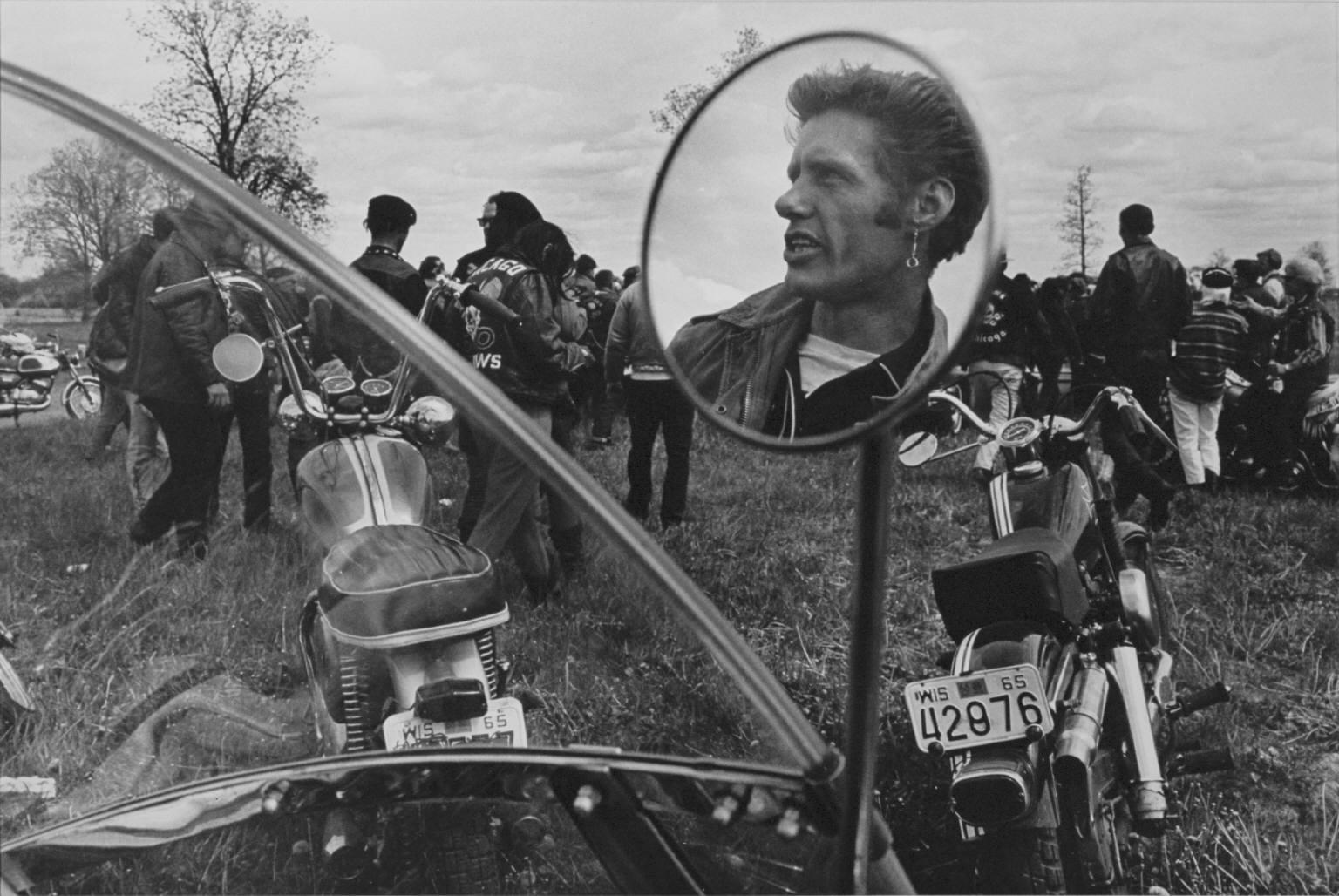"Danny Lyon, ""Cal, Elkhorn, Wisconsin""."