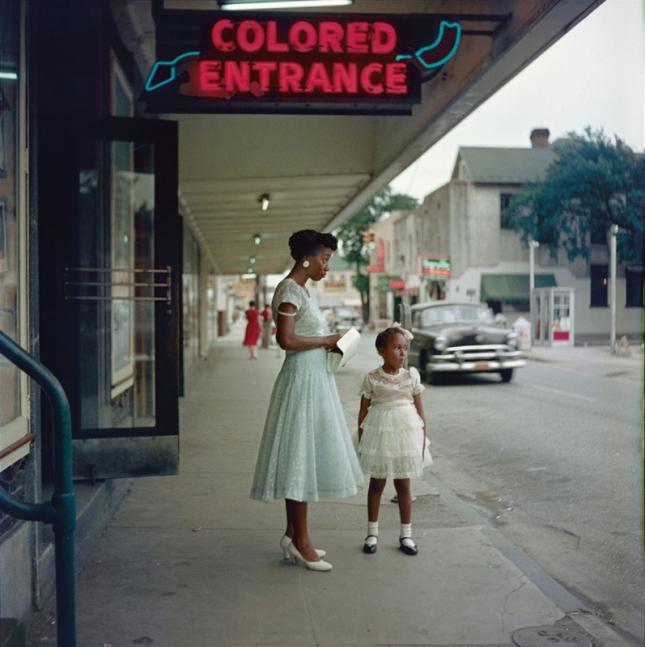 "Gordon Parks, ""Department Store, Mobile, Alabama, 1956."" © The Gordon Parks Foundation."