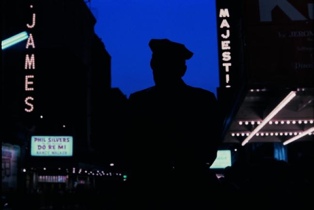 "Gordon Parks, ""Untitled, New York, New York, 1957."" © The Gordon Parks Foundation."