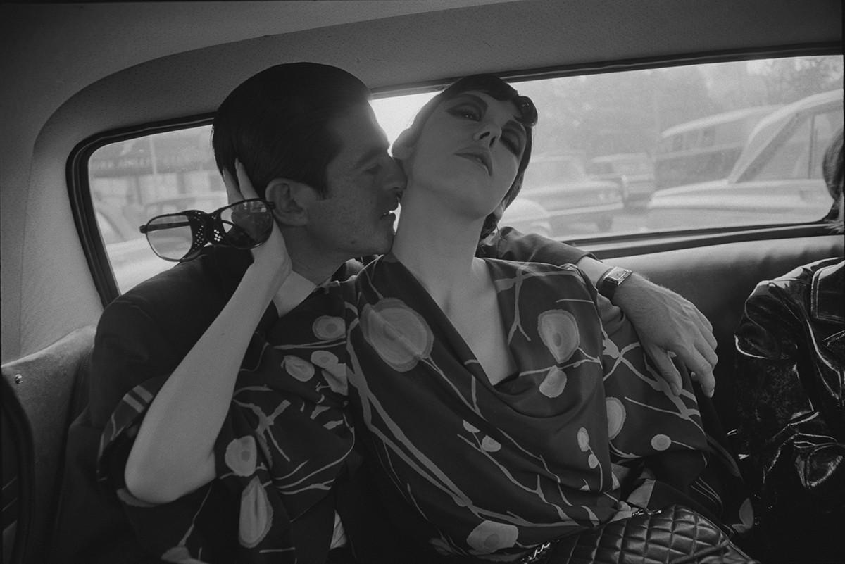 """Dennis Hopper, """"Irving Blum and Peggy Moffitt"""", 1964"""