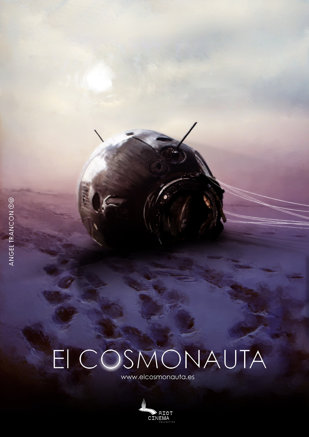 """The teaser poster for """"The Cosmonaut"""""""