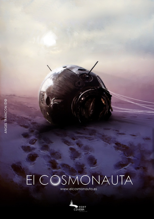 "The teaser poster for ""The Cosmonaut"""