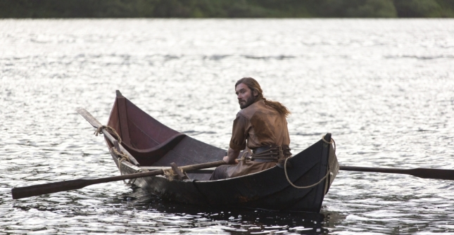 "From Episode 1x1, ""Rites of Passage"": Rollo, Ragnar's brother, played by Clive Standen (Photo credit: Jonathan Hession)."