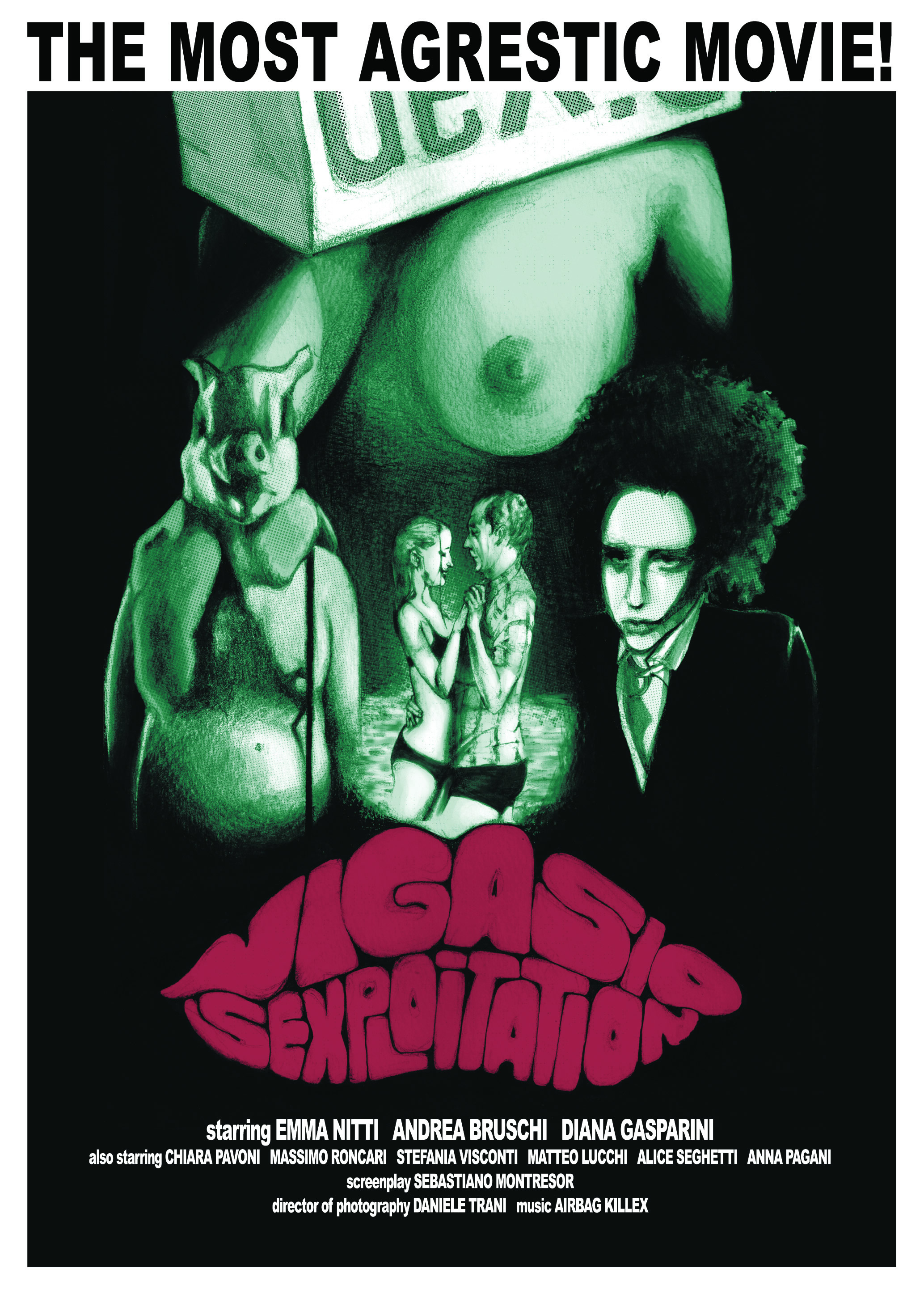 "Poster For ""Vigasio Sexploitation"" Vol. 1"
