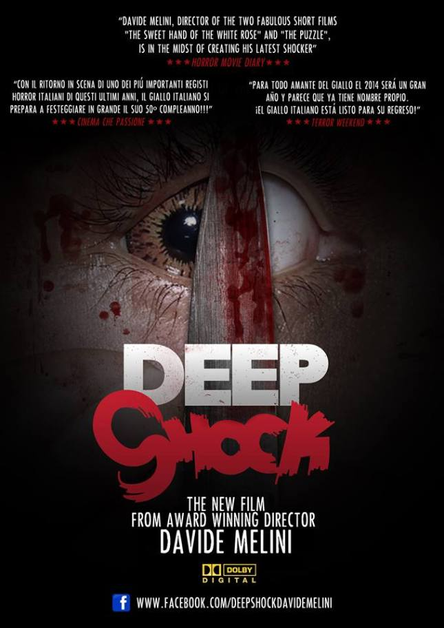 "Promotional poster for ""Deep Shock""."