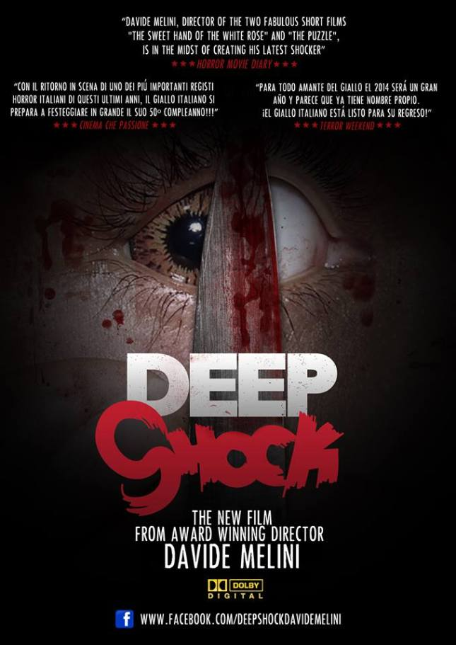 """Promotional poster for """"Deep Shock""""."""