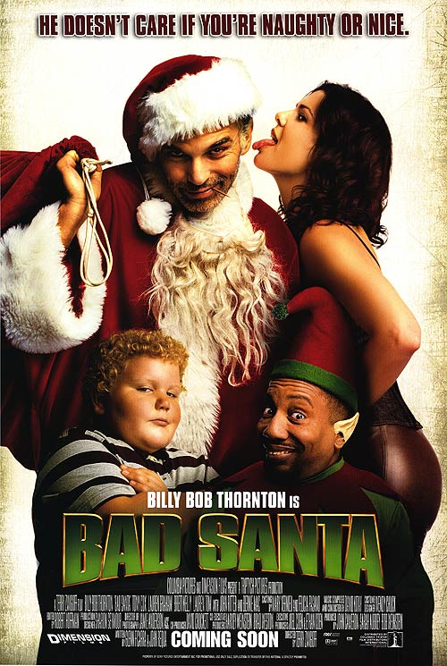 "Poster for ""Bad Santa"""