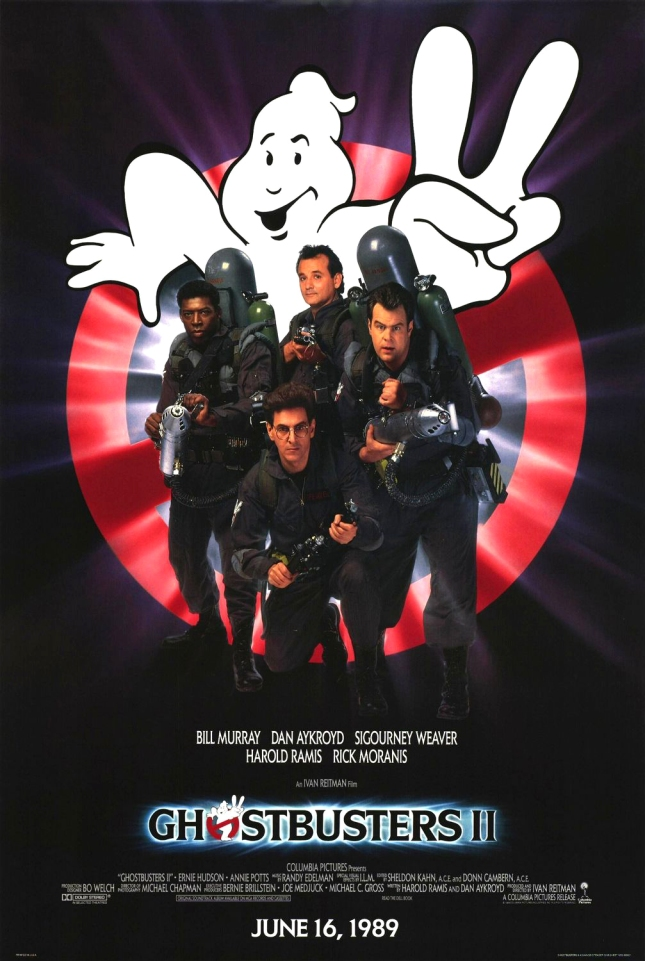"""Poster for """"Ghostbusters 2"""""""
