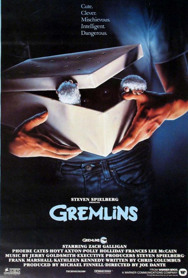 """Poster for """"Gremlins"""""""