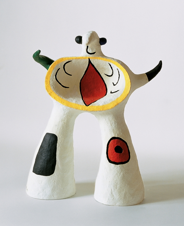 """""""Project for a monument"""", 1972. 51 x 38,5 x 25 cm. © Successione Miró by SIAE 2014."""