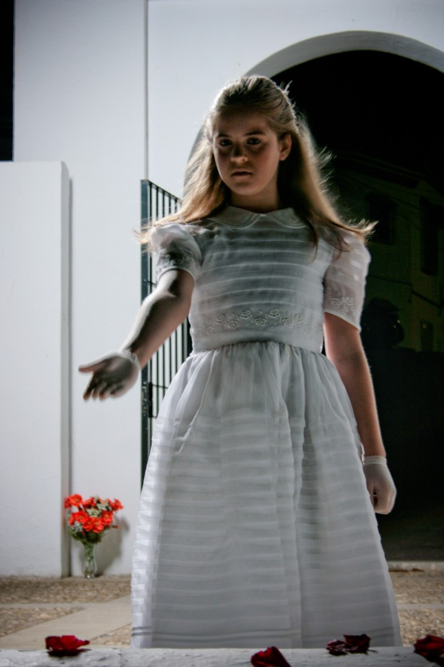 "Natasha Machuca in ""The Sweet Hand of the White Rose"", directed by Davide Melini."