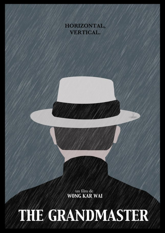 "Minimalist poster for ""The Grandmaster"" by Joris Laquittant."