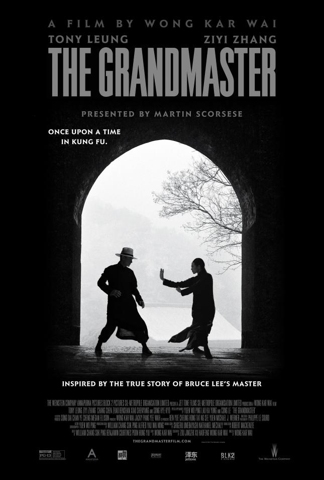 "Poster for Wong Kar-wai's ""The Grandmaster""."