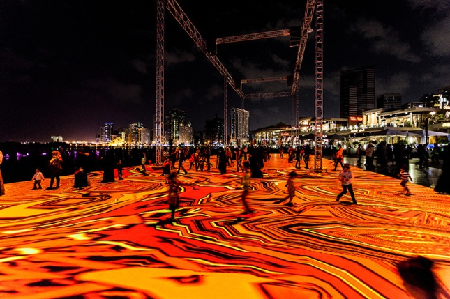 """""""Digital Arabesques 2014"""" - Image courtesy of Miguel Chevalier"""