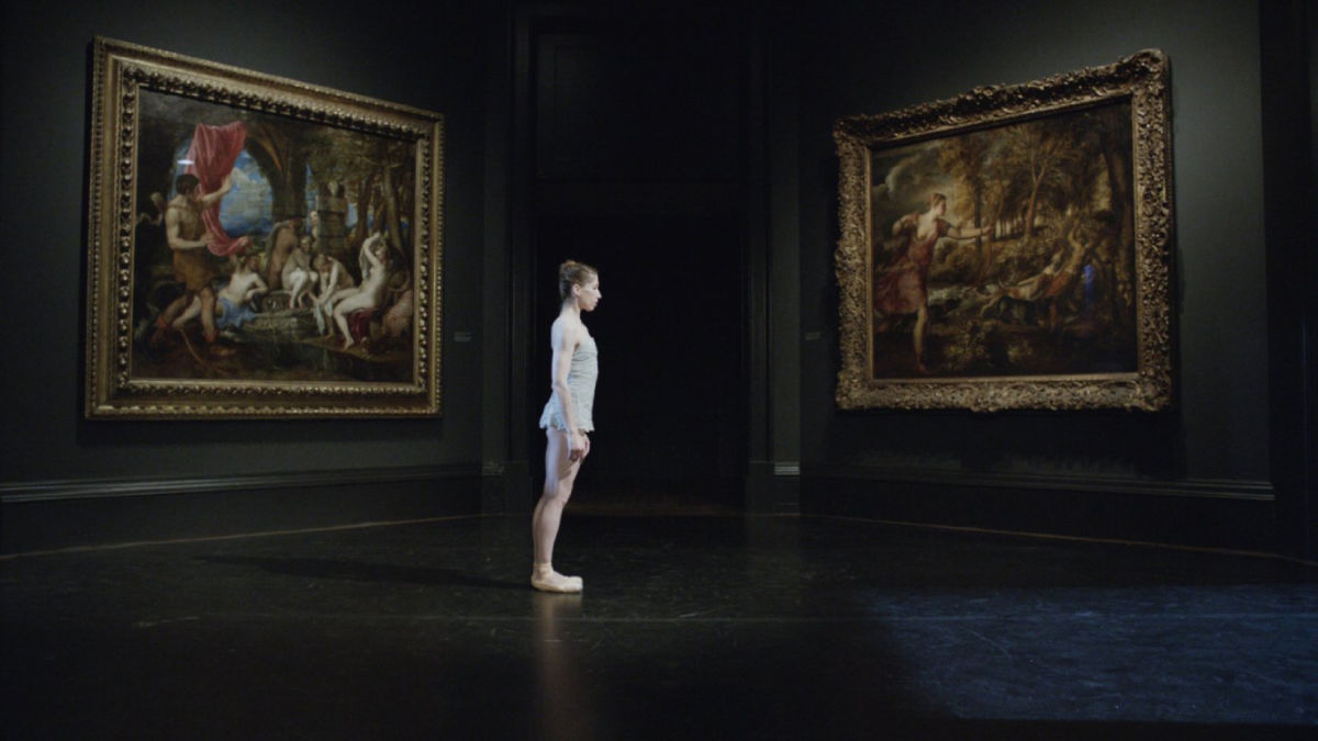 A dance performance at The National Gallery captured by Frederick Wiseman's camera.