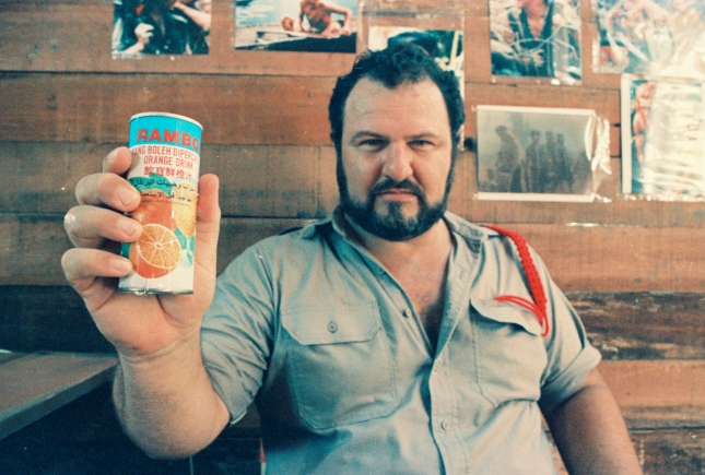 Screenwriter, director and producer John Milius.