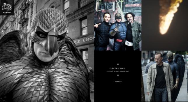 Screenshot from BirdmanBackstage.com