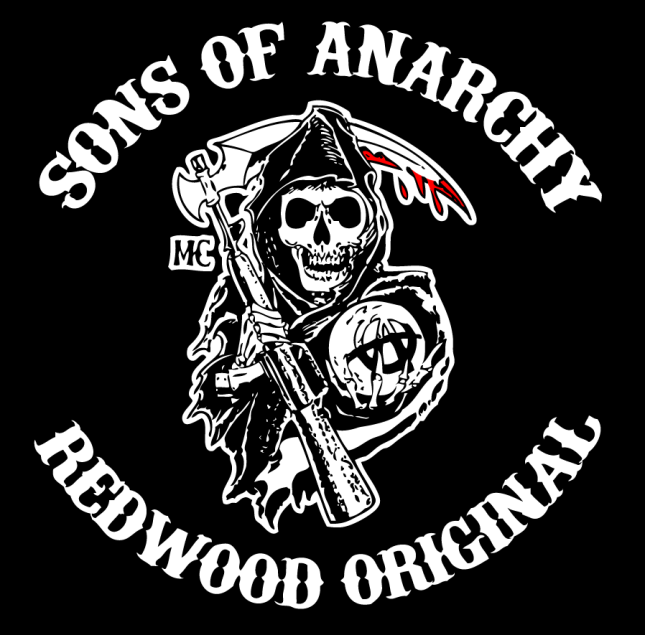 Sons of Anarchy logo.