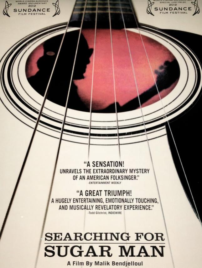 "Poster for Malik Bendjelloul's documentary ""Searching for Sugar Man""."