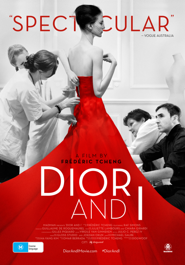 Poster for the documentary 'Dior and I' (2014).