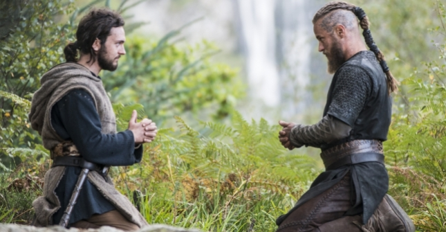 Athelstan and Ragnar (Photo credit: Jonathan Hession).