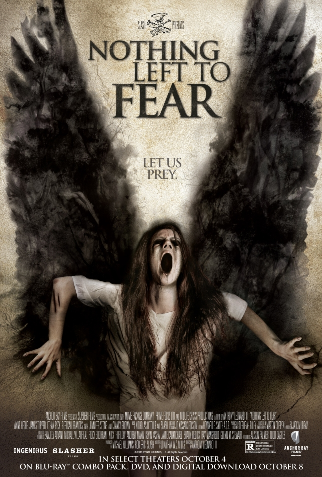 "Poster for ""Nothing Left to Fear"" directed by Anthony Leonardi III"
