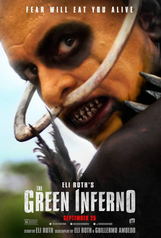 """Final poster for Eli Roth's film """"The Green Inferno""""."""